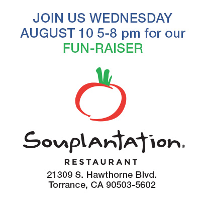 join funraiser at Souplantation to support Madrona Marsh