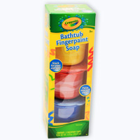bathtub fingerpaint soap