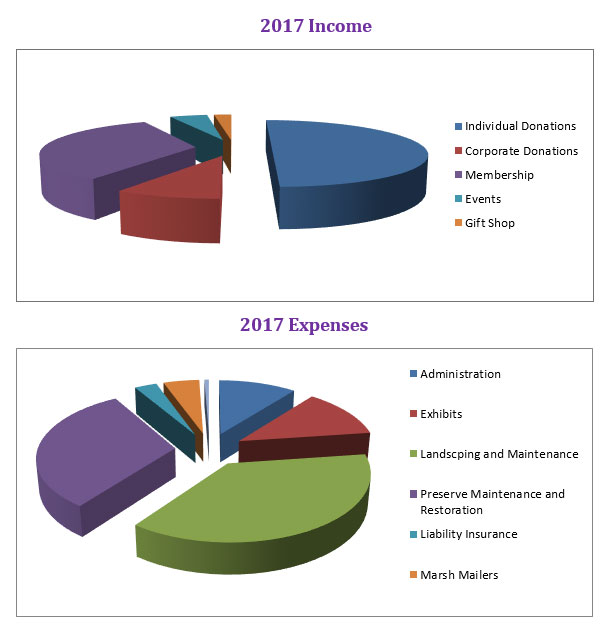 income and expense categories for 2017